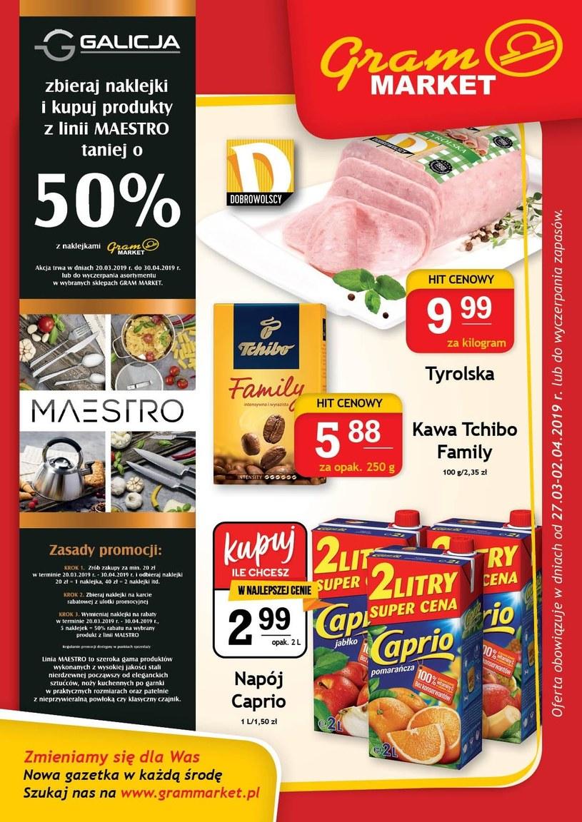 Gram Market: 2 gazetki
