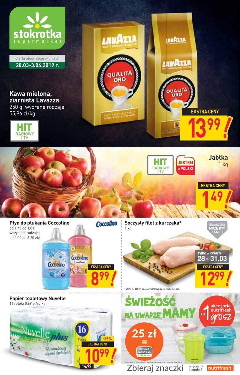 Gazetka promocyjna Stokrotka - ważna od 28. 03. 2019 do 03. 04. 2019