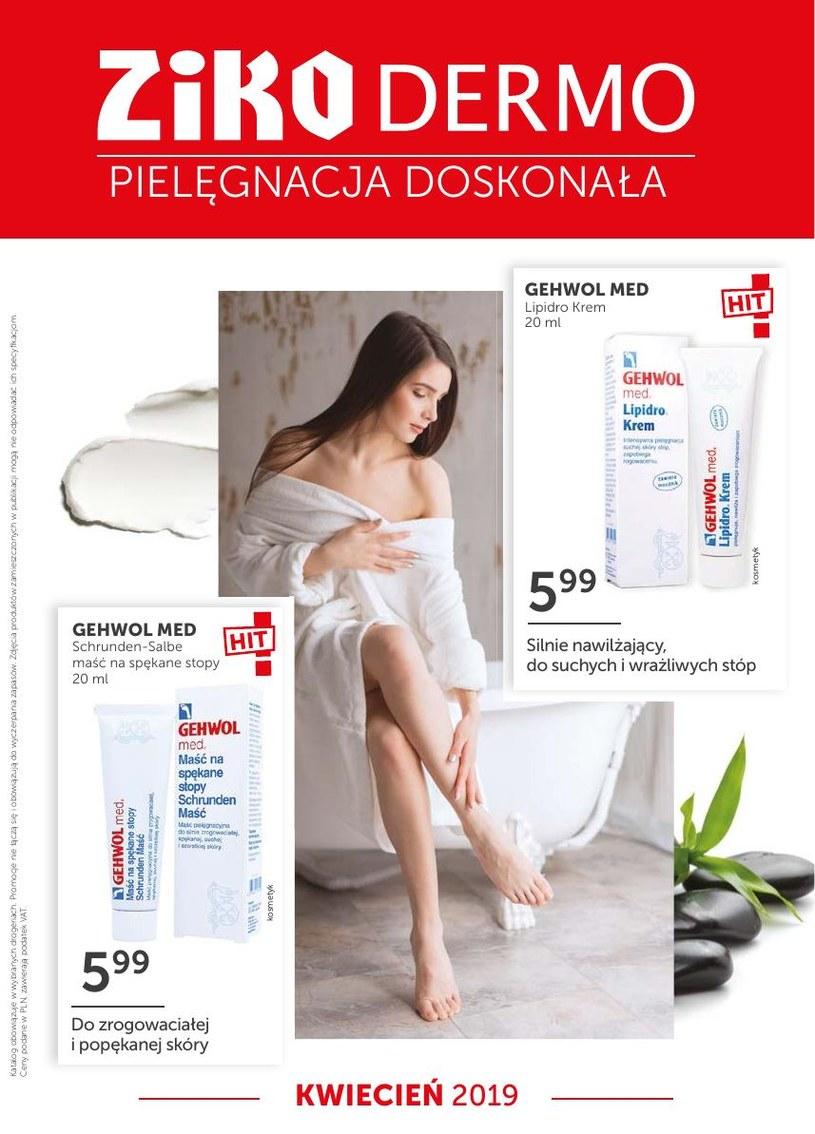 Gazetka promocyjna Ziko Dermo  - ważna od 31. 03. 2019 do 30. 04. 2019