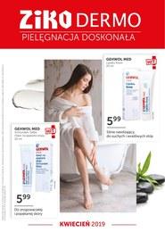 Gazetka promocyjna Ziko Dermo  - Pielęgnacja idealna - ważna do 30-04-2019