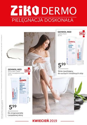 Gazetka promocyjna Ziko Dermo , ważna od 01.04.2019 do 30.04.2019.
