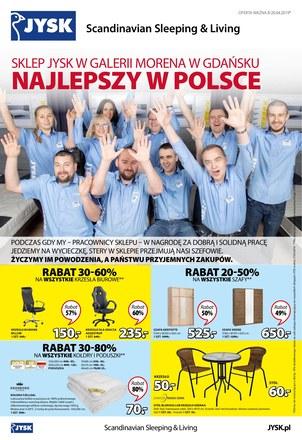 Gazetka promocyjna Jysk, ważna od 08.04.2019 do 20.04.2019.