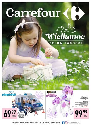 Gazetka promocyjna Carrefour, ważna od 02.04.2019 do 20.04.2019.