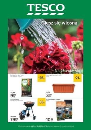 Gazetka promocyjna Tesco, ważna od 03.04.2019 do 25.04.2019.