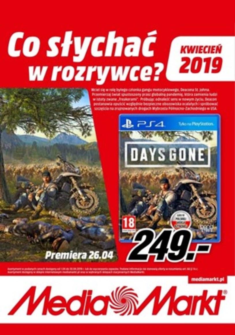 Gazetka promocyjna Media Markt - ważna od 31. 03. 2019 do 30. 04. 2019