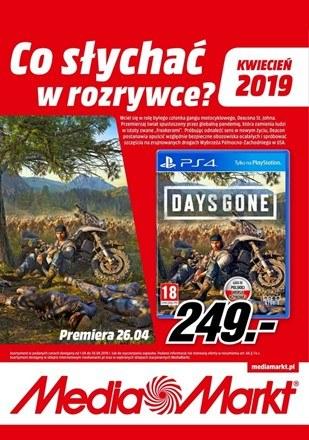 Gazetka promocyjna Media Markt, ważna od 01.04.2019 do 30.04.2019.