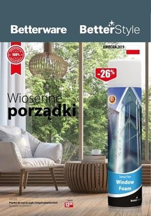Gazetka promocyjna Betterware, ważna od 01.04.2019 do 30.04.2019.