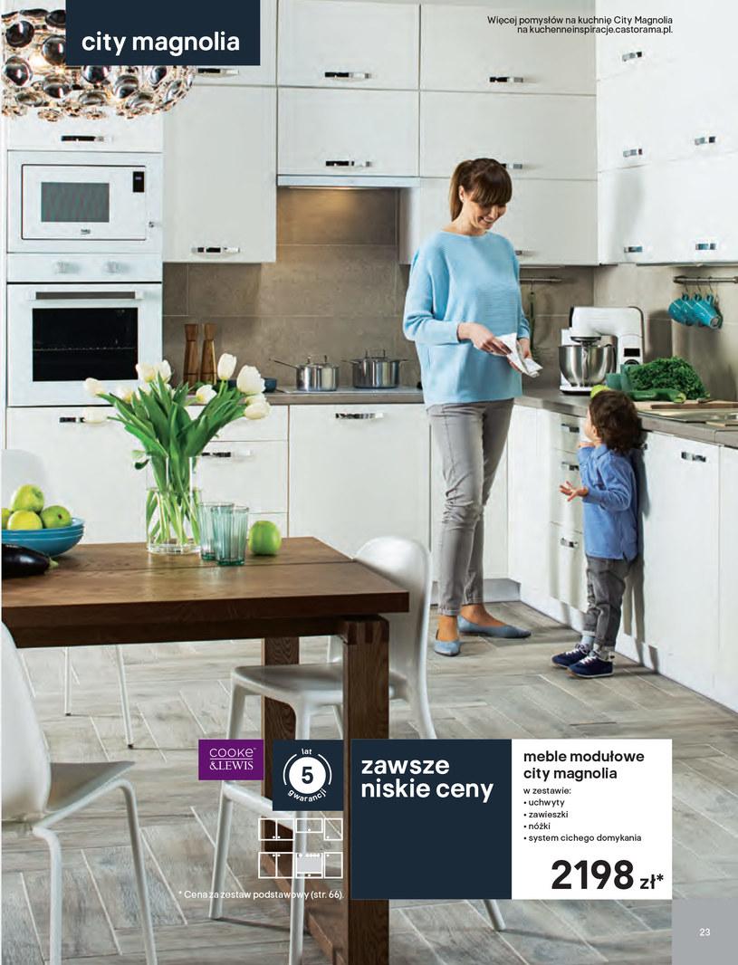 Gazetka: Kuchnie kolekcje 2019 - strona 23