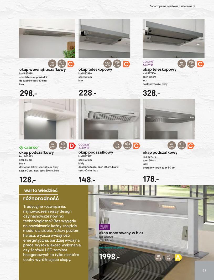 Gazetka: Kuchnie kolekcje 2019 - strona 33
