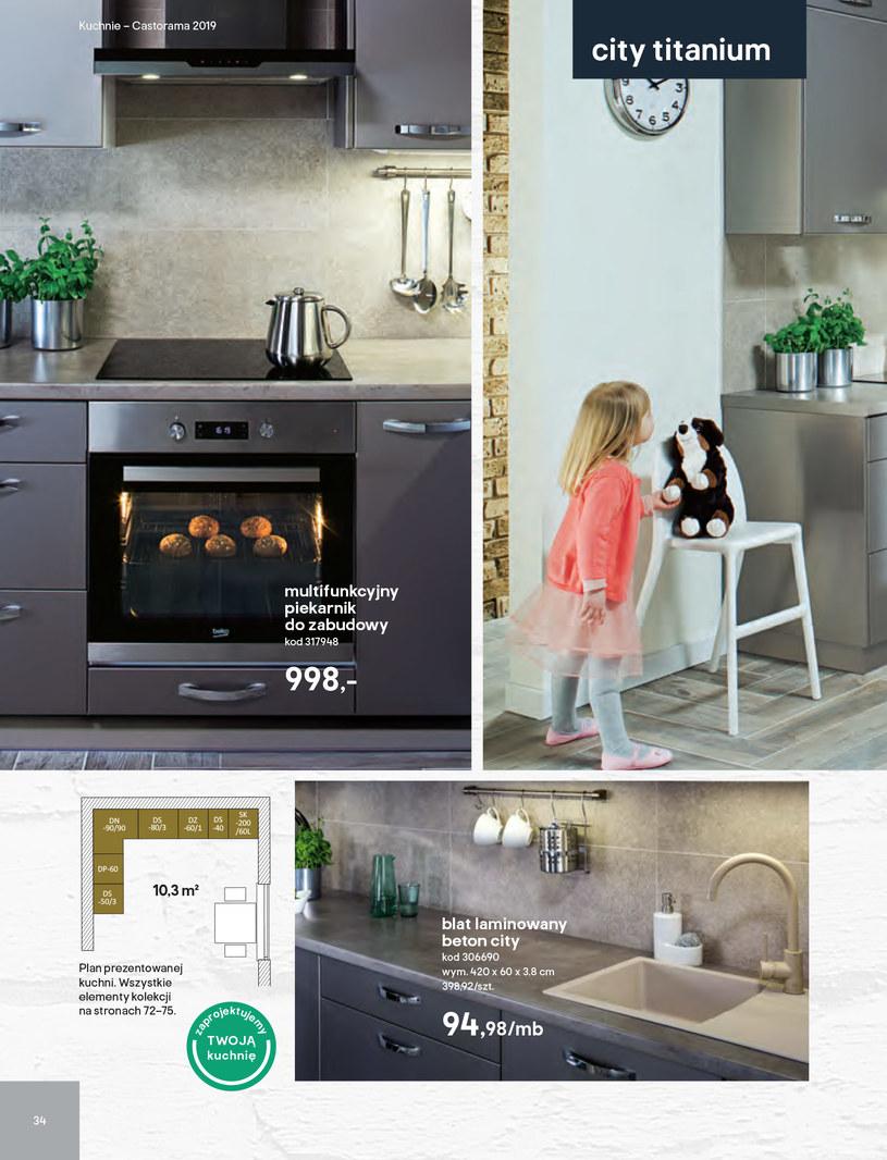 Gazetka: Kuchnie kolekcje 2019 - strona 34