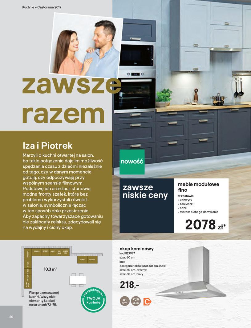 Gazetka: Kuchnie kolekcje 2019 - strona 30