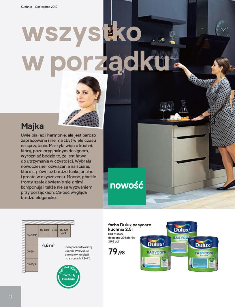 Gazetka: Kuchnie kolekcje 2019 - strona 42