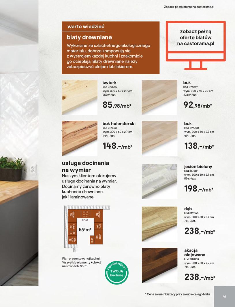 Gazetka: Kuchnie kolekcje 2019 - strona 41