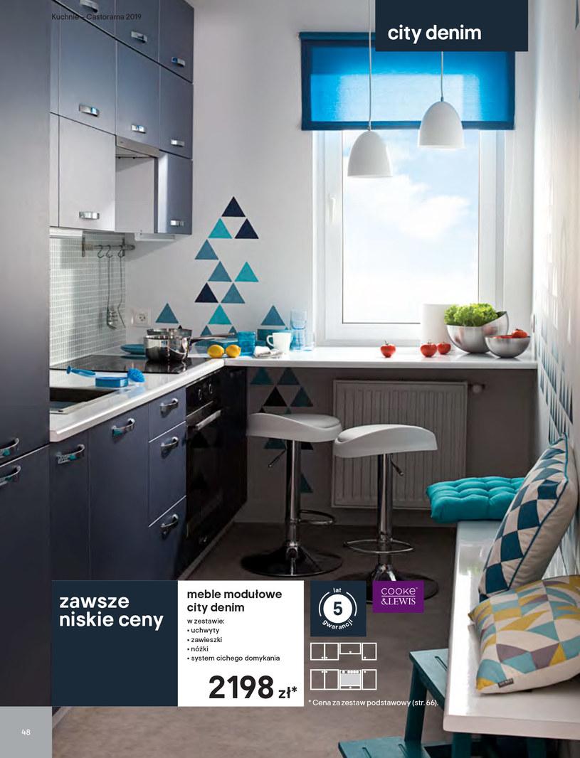 Gazetka: Kuchnie kolekcje 2019 - strona 48