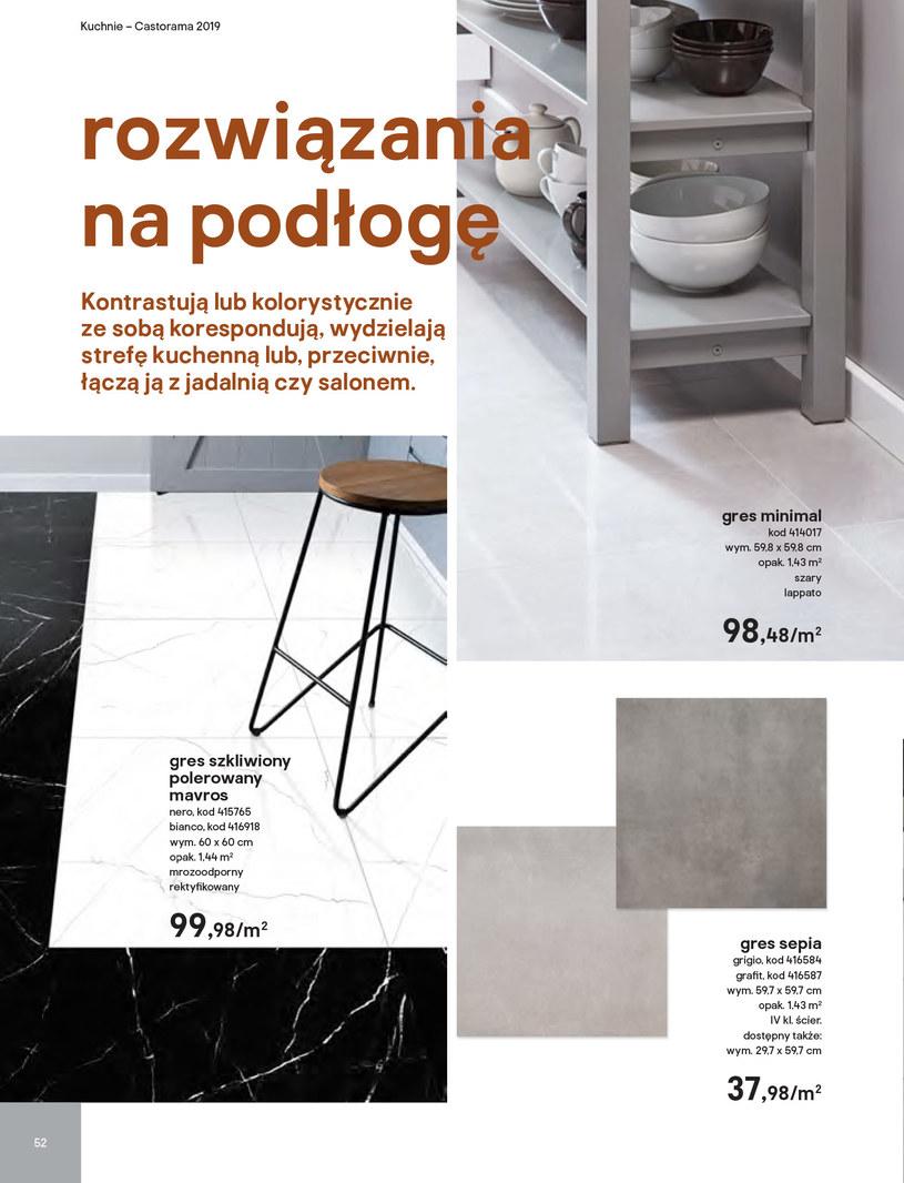 Gazetka: Kuchnie kolekcje 2019 - strona 52