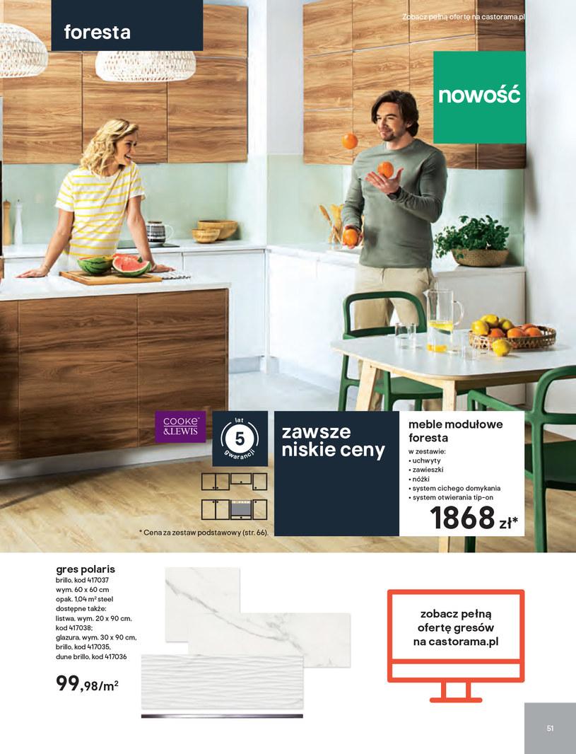 Gazetka: Kuchnie kolekcje 2019 - strona 51