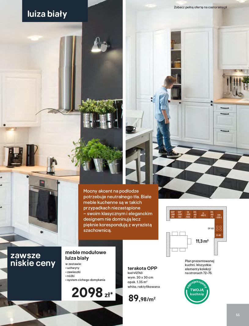 Gazetka: Kuchnie kolekcje 2019 - strona 55