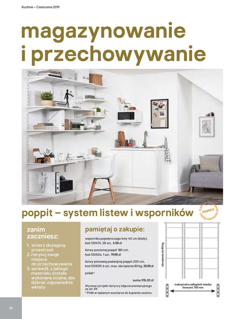 Gazetka: Kuchnie kolekcje 2019 - strona 58