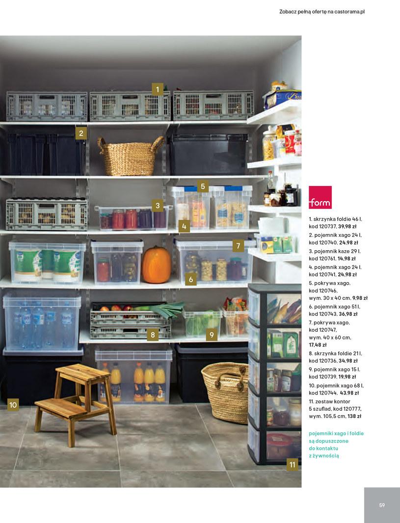Gazetka: Kuchnie kolekcje 2019 - strona 59