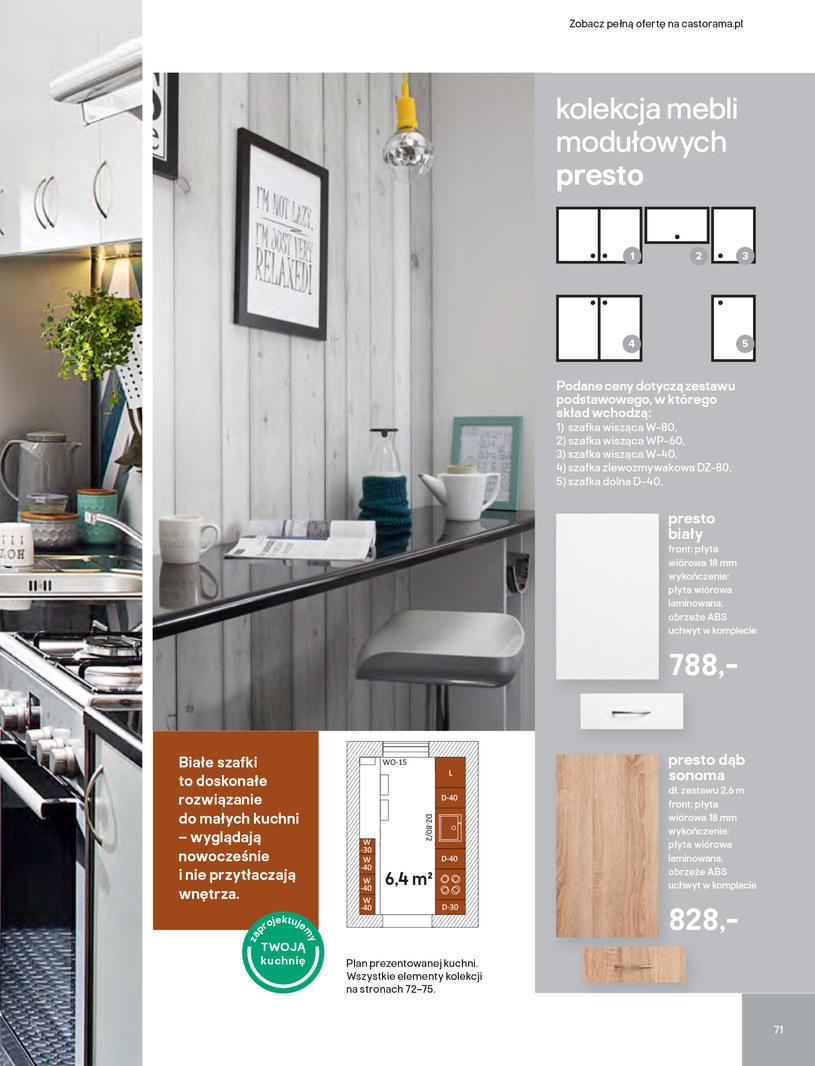 Gazetka: Kuchnie kolekcje 2019 - strona 71