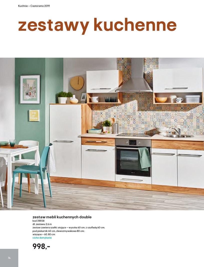 Gazetka: Kuchnie kolekcje 2019 - strona 76