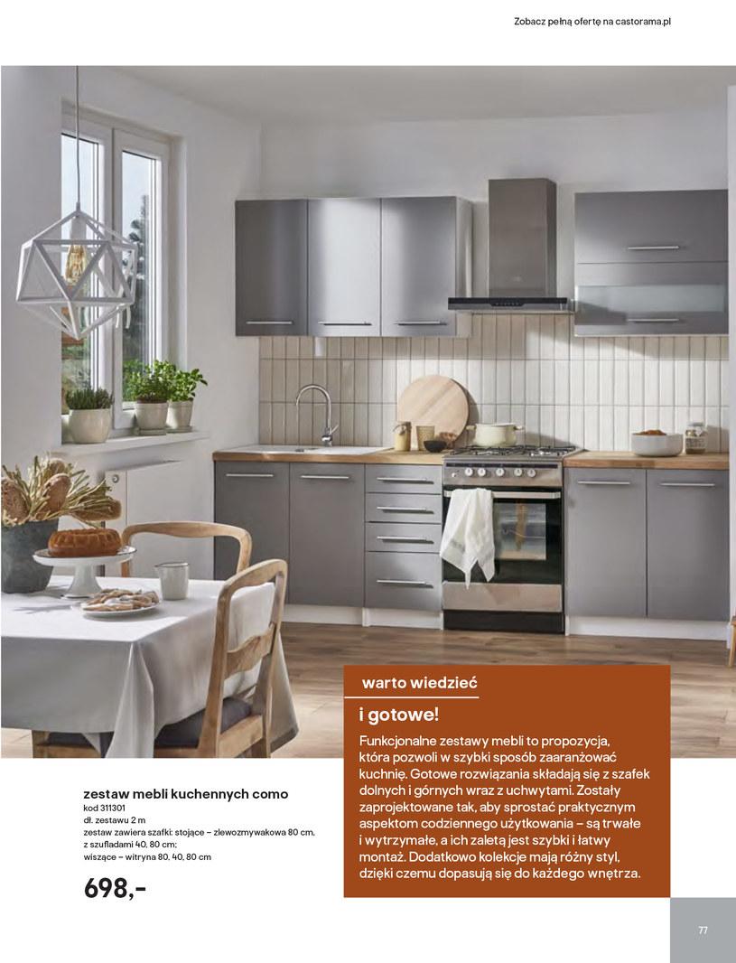 Gazetka: Kuchnie kolekcje 2019 - strona 77