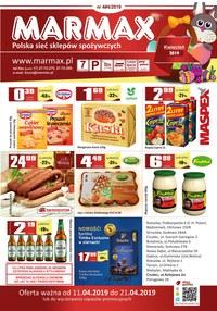 Gazetka promocyjna Marmax - Oferta handlowa - ważna do 21-04-2019