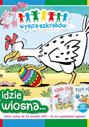 Gazetka promocyjna Wyspa szkrabów, ważna od 01.04.2019 do 22.04.2019.