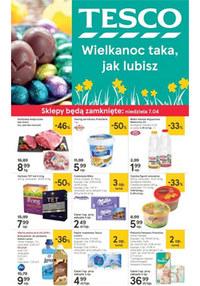 Gazetka promocyjna Tesco Hipermarket - Wielkanoc taka, jak lubisz - ważna do 10-04-2019