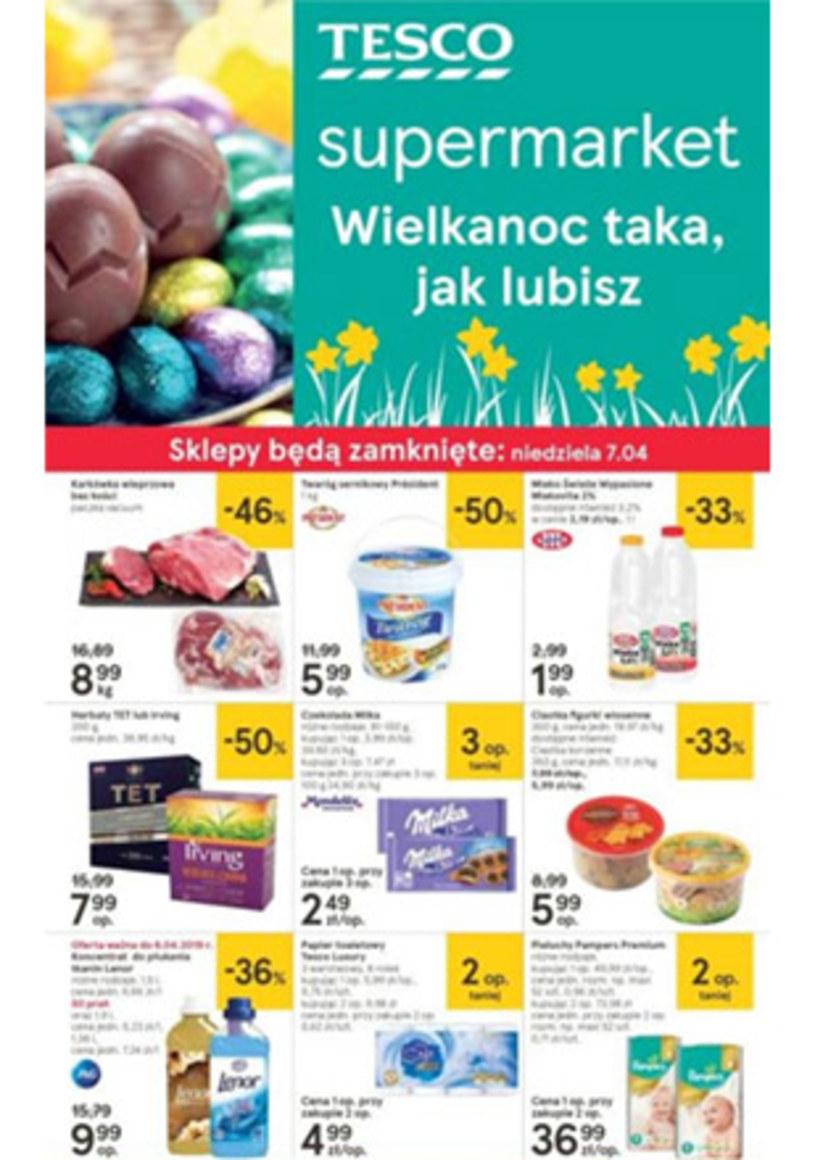 Gazetka promocyjna Tesco Supermarket - wygasła 8 dni temu