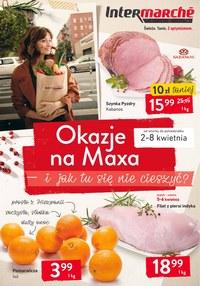 Gazetka promocyjna Intermarche Super - Okazje na maxa  - ważna do 08-04-2019