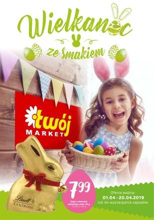 Gazetka promocyjna Twój Market, ważna od 01.04.2019 do 20.04.2019.
