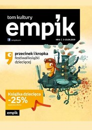 Gazetka promocyjna EMPiK - Tom Kultury - ważna do 23-04-2019