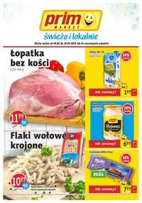 Gazetka promocyjna Prim Market - Świeżo i lokalnie  - ważna do 10-04-2019