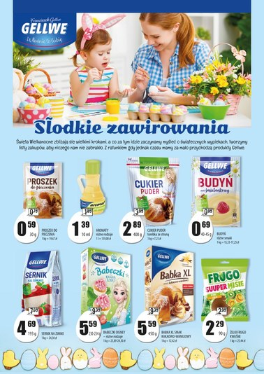 Gazetka promocyjna PSS Społem Szczecin, ważna od 05.04.2019 do 24.04.2019.