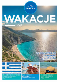Gazetka promocyjna Grecos Holiday, ważna od 03.04.2019 do 31.08.2019.