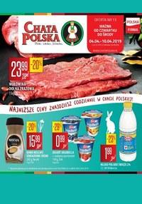 Gazetka promocyjna Chata Polska - Oferta handlowa - ważna do 10-04-2019