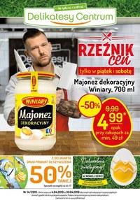 Gazetka promocyjna Delikatesy Centrum - Rzeźnik cen - ważna do 10-04-2019