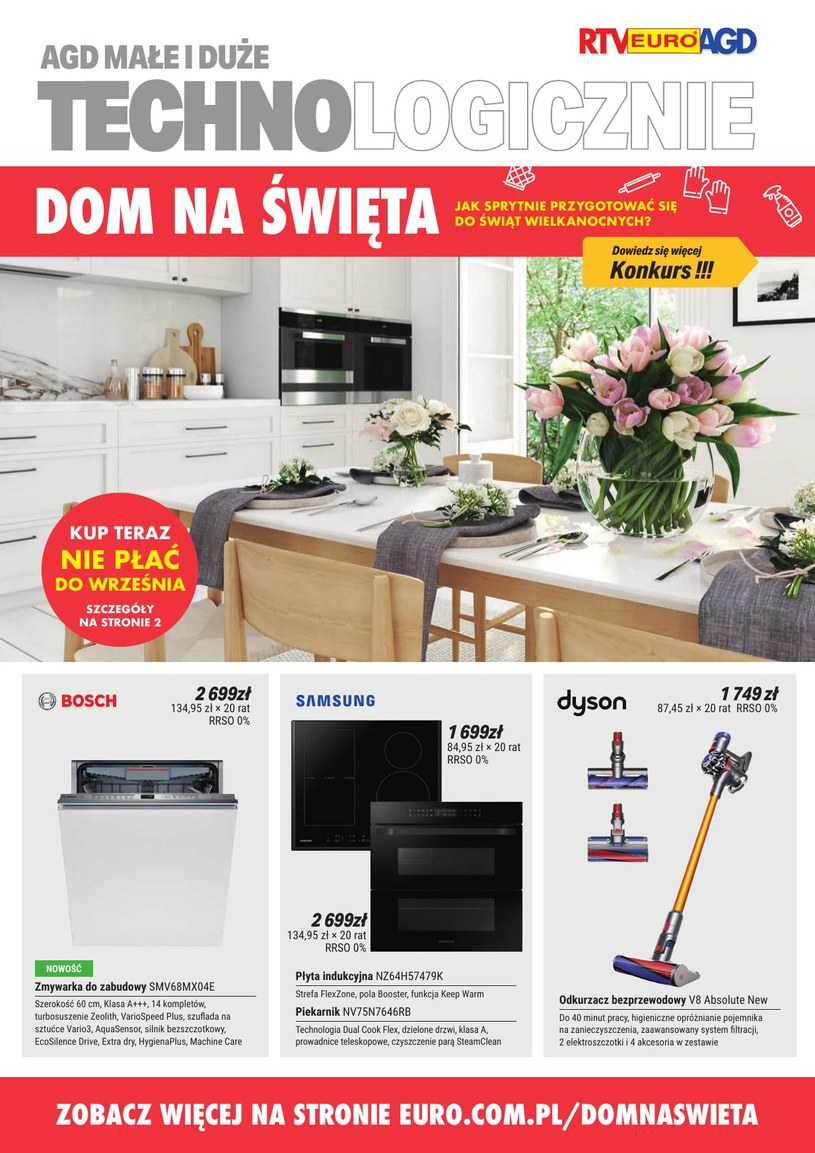 Gazetka promocyjna RTV EURO AGD - ważna od 03. 04. 2019 do 22. 04. 2019