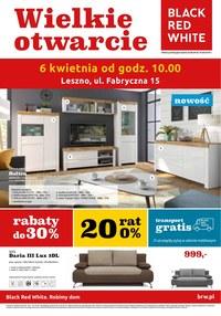 Gazetka promocyjna Black Red White - Wielkie otwarcie - Leszno - ważna do 10-04-2019