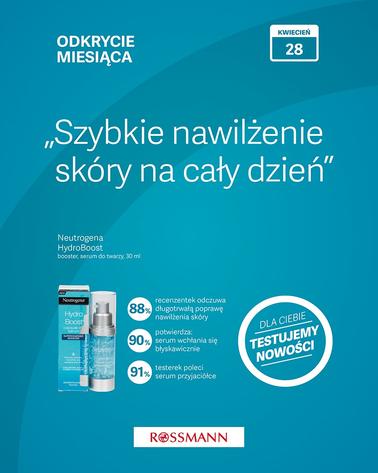 Gazetka promocyjna Rossmann, ważna od 01.04.2019 do 30.04.2019.