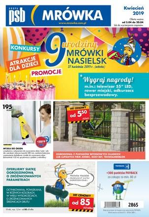 Gazetka promocyjna PSB Mrówka, ważna od 05.04.2019 do 20.04.2019.