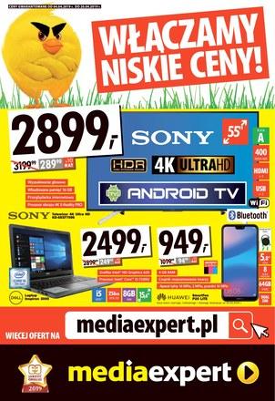Gazetka promocyjna Media Expert, ważna od 05.04.2019 do 20.04.2019.