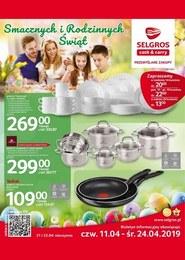 Gazetka promocyjna Selgros Cash&Carry - Smacznych i rodzinnych świąt - ważna do 24-04-2019