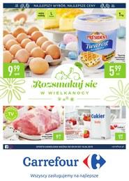 Gazetka promocyjna Carrefour - Rozsmakuj się w Wielkanocny  - ważna do 14-04-2019