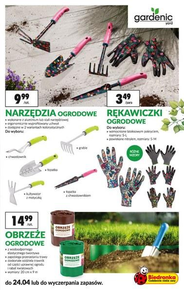 Gazetka promocyjna Biedronka, ważna od 08.04.2019 do 24.04.2019.