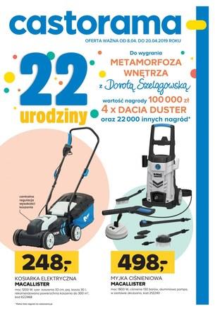 Gazetka promocyjna Castorama, ważna od 08.04.2019 do 20.04.2019.