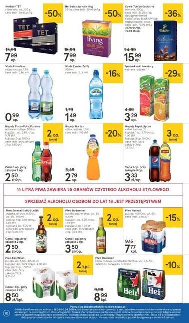 Gazetka promocyjna Tesco Supermarket, ważna od 11.04.2019 do 20.04.2019.