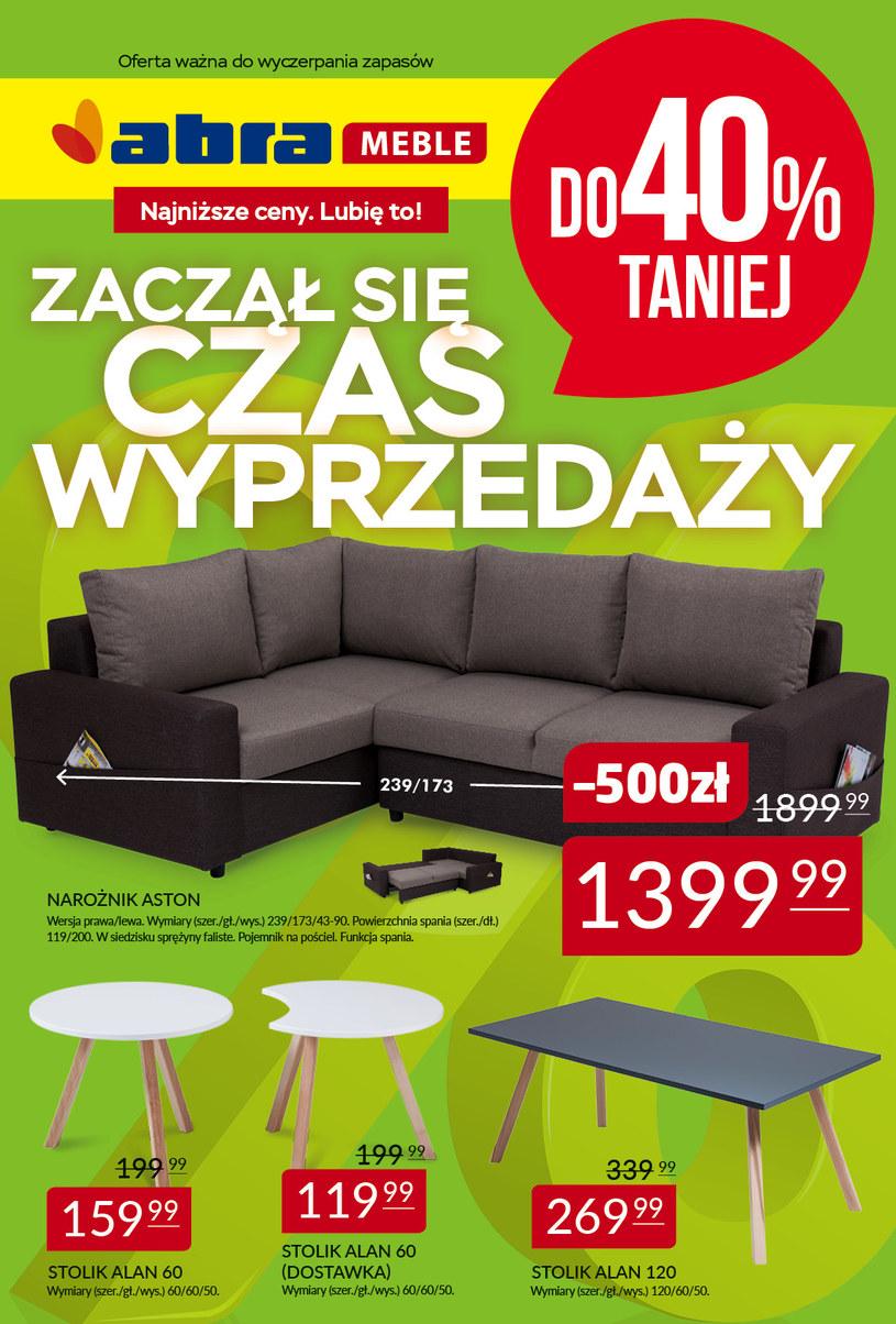 Gazetka promocyjna Abra - ważna od 07. 04. 2019 do 30. 04. 2019