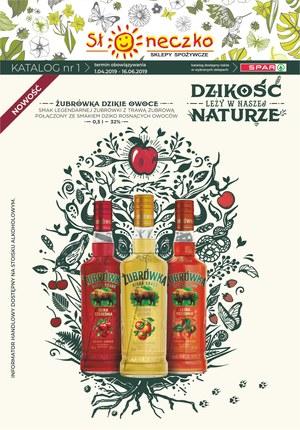 Gazetka promocyjna Słoneczko - Katalog Alkoholi Wiosna 2019